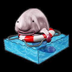 Mr. blobby fish