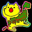 LINEスタンプランキング(StampDB) | 日本を旅行する黄色い猫