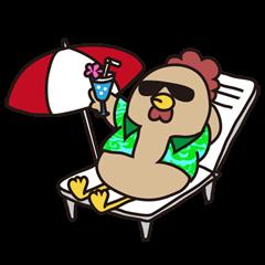 LINEスタンプランキング(StampDB) | 鶏若丸イチロー