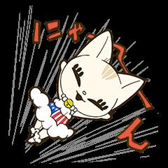 LINEスタンプランキング(StampDB) | おませな猫の1年