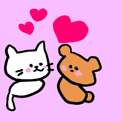 Cat sometimes Bear