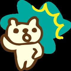手寫可愛的熊,Nyamuta