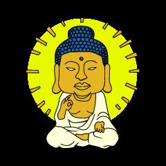 仏像スタンプ