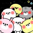 LINEスタンプランキング(StampDB) | デコあにまる文字入り日常スタンプ☆