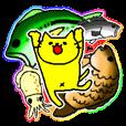 LINEスタンプランキング(StampDB) | 釣りをする黄色い猫