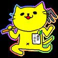 LINEスタンプランキング(StampDB) | 農家になる黄色い猫