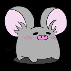 Something like a pig