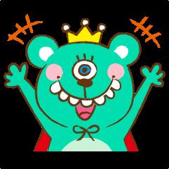 Green Apple Monsterlineスタンプ Stamplist