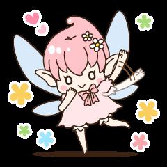 LINEスタンプランキング(StampDB)   四季の妖精さんスタンプ