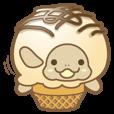 LINEスタンプランキング(StampDB) | の?んびり!アイスかめクリーム