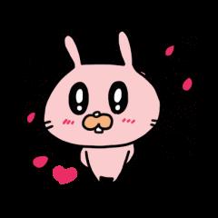 rabbit&friends sticker 2