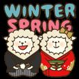 LINEスタンプランキング(StampDB) | ひつじの冬から春
