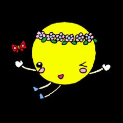 Moon of girl