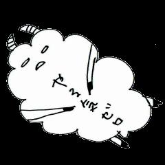 LINEスタンプランキング(StampDB) | 手書きのひつじちゃん