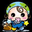LINEスタンプランキング(StampDB) | 着ぐるみあかちゃん