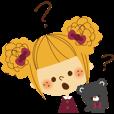 LINEスタンプランキング(StampDB) | 定番!女の子フェイススタンプ