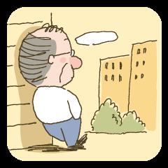 LINEスタンプランキング(StampDB) | 沈黙の父『休日編』