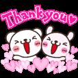 LINEスタンプランキング(StampDB) | ありがとー!感謝いっぱいサンキュ?♪