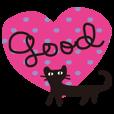 LINEスタンプランキング(StampDB) | 大人かわいいネコ【日常・敬語】