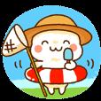 LINEスタンプランキング(StampDB) | 麦わらちゃんの夏
