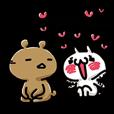 LINEスタンプランキング(StampDB) | 愛しすぎて大好きすぎる。もっと。