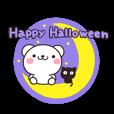 LINEスタンプランキング(StampDB) | 秋・冬ハロウィン!しろくまさん