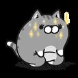 LINEスタンプランキング(StampDB) | ボンレス猫 Vol.3