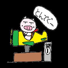 LINEスタンプランキング(StampDB) | ぐんまのブタ
