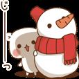 LINEスタンプランキング(StampDB) | ゲスくまの冬