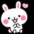 LINEスタンプランキング(StampDB) | やさしいウサギの使える言葉