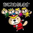 LINEスタンプランキング(StampDB) | 突撃!ラッコさん 戦隊ヒーロー編2