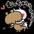 LINEスタンプランキング(StampDB) | 愛しすぎて大好きすぎる。激。