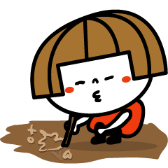 LINEスタンプランキング(StampDB) | リトルおかっぱちゃん