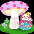 LINEスタンプランキング(StampDB) | チョコくま☆マトリョーシカ【毎日コトバ】