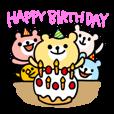 LINEスタンプランキング(StampDB) | 誕生日&お祝いスタンプ