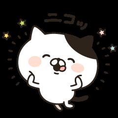 LINEスタンプランキング(StampDB) | いつも笑顔のぶちネコさん