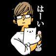 LINEスタンプランキング(StampDB) | 上から部長7 -プライベートver- (猫付き)