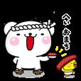 LINEスタンプランキング(StampDB) | おすししろくま へいおまち!