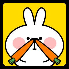 LINEスタンプランキング(StampDB) | あまえんぼうさちゃんのかお 2