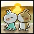 LINEスタンプランキング(StampDB) | 二人の暑い夏・ベストカップル
