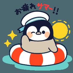 LINEスタンプランキング(StampDB) | まったりペンギン 夏編