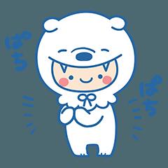 LINEスタンプランキング(StampDB) | 赤ちゃんのように動く!おおかみぼうや