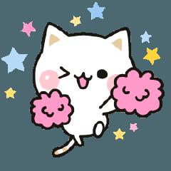 LINEスタンプランキング(StampDB) | 気づかいのできるネコ 動くスタンプ編