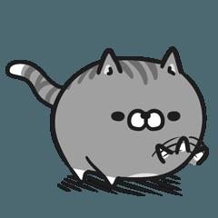 LINEスタンプランキング(StampDB) | ボンレス猫 Vol.4