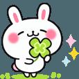 LINEスタンプランキング(StampDB) | やさしいウサギの使えるアニメスタンプ