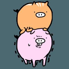 LINEスタンプランキング(StampDB) | いのぶた兄弟