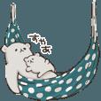 LINEスタンプランキング(StampDB) | しろくま親子2