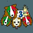 LINEスタンプランキング(StampDB) | イタリア語かいわんこ 3