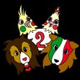 LINEスタンプランキング(StampDB) | イタリア語かいわんこ 2