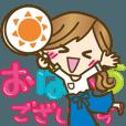 LINEスタンプランキング(StampDB) | 【動く?敬語】毎日つかえる言葉?2